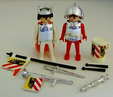 Playmobil Vintage Royal King & Soldier Guard Figures with Mixed Accessories