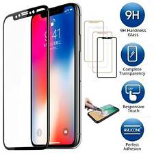 Apple iPhone X / 10 [FULL COVER] Tempered Glass Screen Protector Guard Shield