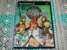 CASE ONLY - Tales of the Abyss (Sony PlayStation 2) PS2 Genuine Original