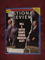 NATIONAL REVIEW Magazine May 27 1991 United Europe