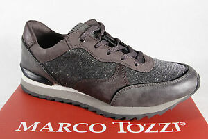 Marco Tozzi Women's 23714 Sneakers Low Shoes Grey New