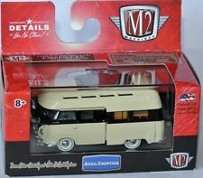 M2 Machines MiJo Exclusive - 1959 VW DOUBLE CAB CAMPER - yellow/black 1:64 MJS04