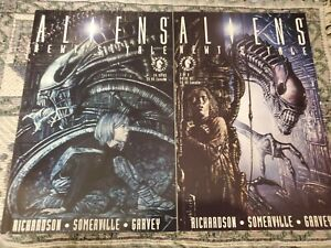 Aliens Newts Tale #1 and #2. Dark Horse.  NEAR MINT 9.4 or Better.