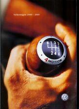 Y2K Year 2000 Paris Auto Show Catalog:  Volkswagen Lupo Cabriolet Beetle Bora