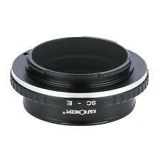 SC - E Adapter Ring for Nikon S mount Contax RF Lens to Sony E Mount NEX Cameras