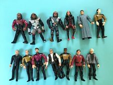 Star Trek Action Figures Collectible TNG TOS  Lot of 13