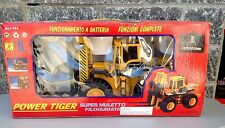 Vintage Mega Forklift Rc Filoguidato Power Tiger Super Muletto 60 Cm 24''