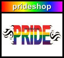 Rainbow Pride Tribal Single Temporary Tattoo Gay Lesbian Pride #1072