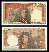 France, 500 Nouveaux Francs, 500 NF 1959-1966 ''Molière'', 1964-01-02 / *VF +
