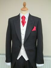 SIZE 16   FORMAL WHITE  SHIRT - ORDINARY COLLAR St Andrews 55% cotton exhire