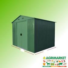 Casetta rimessa box metallo zincata verniciata 184x257x199 cm attrezzi OFFERTA!!