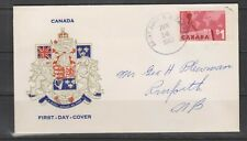 Can 4110 - 1963 $1 Canadian Exports - FDC by Caneco