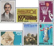 Griekenland 1354,1355,1356,1357, 1358,1359 postfris 1979 Speciale postzegels