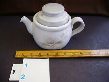 DENBY   Whisper Pattern   Smaller  Tea/Coffee Pot   with LID  in Stoneware