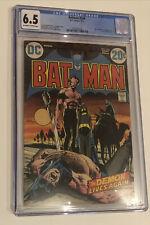 Batman 244 CGC 6.5 OW/W Ra's Al Ghul saga DC Comics Neal Adams art Sept 1972