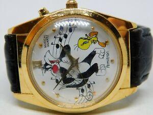 Armitron 2200/93-94 Warner Bros. Tweety Bird Quartz Analog Musical Ladies Watch