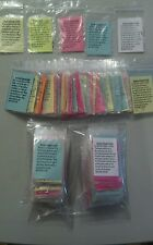 150 Mustard Seed of Faith Gift Paks  Scriptures Jesus Inspiration Encouragement