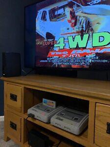 4wd super offroad- SNES - Super Nintendo Cart Only