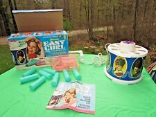 Vintage 1968 Kenner's Easy Curl Hot Rollers Curlers complete in box! WORKS