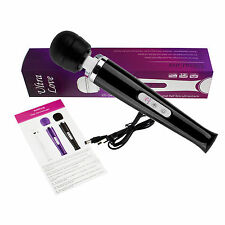 Magic Wand 2.0 testa massaggiante - 20 livelli di massaggio dispositivo-forte-VIBRATOR-batteria - S