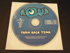 Turn Back Time by Aqua (Single) (CD, 1998) - Disc Only!!!