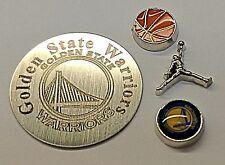 NEW Golden State Warriors Basketball Floating Locket Set