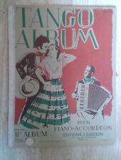 Tango album. Pour piano-accordéon. IIe album. Garzon. 1953.