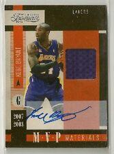 Kobe Bryant 2010-11 Timeless Treasures MVP Materials GU Jersey on-card Auto /25