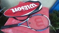 raquette de tennis Wilson K Factor brave Arophite Black  L 4 racquet vintage