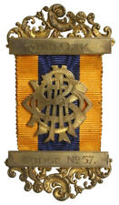 NASTRO RIBBON ORDER OF BUFFALOES 1926 OLD OAK LODGE #N415
