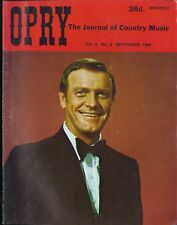 Opry Vol 2 No 3 1969 Cash/Reeves/Eddy Arnold/Kelly Gang/Pop Stoneman/Kentucky