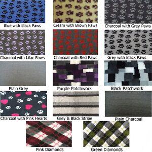 PnH® NON SLIP - VET BED - Vet, Dog, Fleece Bedding - Squares / Rectangles