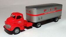 1950 CHEVY P.I.E. SEMI TRACTOR TRAILER CAB  PACIFIC INTERMOUNTAIN EXPRESS 1/43
