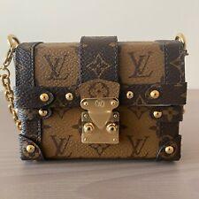 Louis Vuitton Essential Trunk Mini Petite Malle bag wristlist crossbody bag NEW