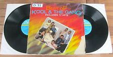 KOOL & THE GANG Best Of (1985) 2 LP VINYL ALBUM - De-Lite Records  827 775-1 ME