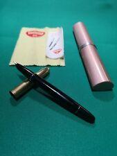Aurora 88 piston fill fountain pen,original box, cloth & insert,14k F Nib