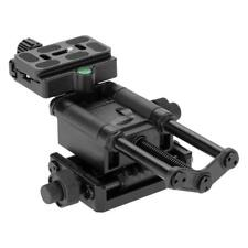 4 Way Macro Shot Focusing Rail Slider with Quick Release Clamp for Canon Sony