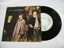 """A-HA - CRY WOLF - 7"""" GERMAN VINYL EXCELLENT CONDITION 1986"""
