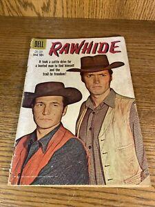 Dell Comics Rawhide #1028 - Clint Eastwood, Eric Fleming 1959 10¢ Western