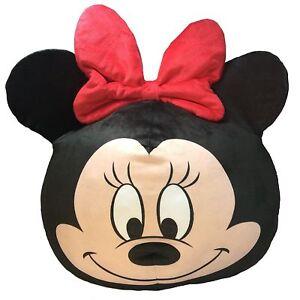 "Disney Minnie Mouse 3D Ultra Stretch Soft Cloud Pillow 11"""
