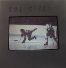 LEON ROCHEFORT DAVE BALON Montreal Canadiens New York Rangers ORIGINAL SLIDE 9