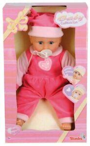 Simba Babypuppe 40 cm mit Weinfunktion Puppe Funktionspuppe Spielpuppe NEU Püppi