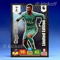 Panini Adrenalyn XL 2019-2020: Lloris Limited Edition. Tottenham. Premier League