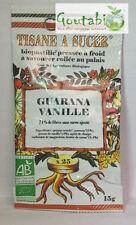 Biopastilles - Tisanes à sucer Guarana / Vanille Bio - 15 g
