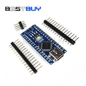 USB Nano V3.0 ATmega328P CH340G 5V 16M Micro-controller board Arduino New BBC