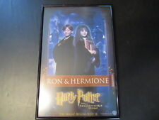 HARRY POTTER AND THE PHILOSOPHER'S STONE UK RON AND HERMIONE POSTER  A11807