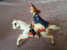 Soldat Cavalier amovible plomb style QUINTALU cheval Collection guerre Napoléon