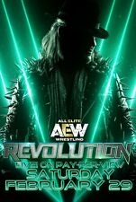 AEW Revolution 20 Deluxe Edition DVD MOX JERICHO YOUNG BUCKS All Elite Wrestling
