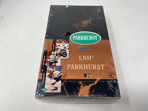 Factory Sealed Box of 1991 series 1 Hockey cards LNH French version New