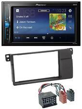 Pioneer 2DIN MP3 USB AUX Autoradio für BMW 3er E46 Rundpin großem Navi